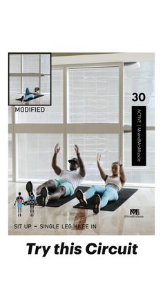 Fitness Workouts, Full Body Hiit Workout, Gym Workout Videos, Gym Workout For Beginners, Fitness Workout For Women, At Home Workouts, Beginner Gym Workouts, Workout Circuit, Workout Guide