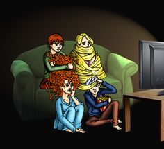 The BIG Four modern AU by thefandoms-tictacs.deviantart.com on @deviantART
