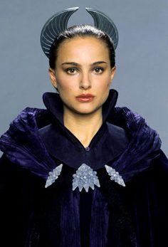 Senator Padme Amidala, 'StarWars Episode III: Revenge of the Sith'. Final senate appearance headpiece, designed by Trisha Biggar.