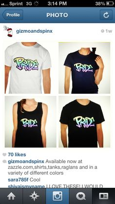 Pride Shirts,tanks,and hoodies now available at www.zazzle.com/gizmoandspinx! #pride#shirts#summer#fashion#guys#girls#gay#gaypride#summerfashion#style#fresh#dope#swag#sick#lesbian#lgbt#noh8#samelove#loveislove#equality#clothes#clothing
