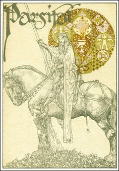 Willy Pogany 1882-1955 Parsifal by Wagner Published by Crowell 1912 via Golden Age Comic Book Stories