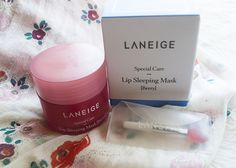 Heal your lips with Laneige Lip Sleeping Mask Best Peel Off Mask, Witch Hazel For Skin, Cucumber Face Mask, Lip Sleeping Mask, Charcoal Face Mask, Natural Acne Remedies, Cosmetic Containers, Laneige, Make Up