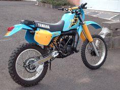 Free²my first real bike,got good at welding frames Enduro Motorcycle, Motocross Bikes, Retro Motorcycle, Enduro Vintage, Vintage Bikes, Yamaha Bikes, Honda Motorcycles, Honda Supermoto, Cross Country Bike