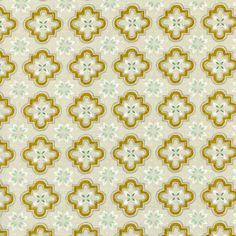 Sarah Watts for Cotton and Steel, Honeymoon, Porch Tile Mustard, Fabricworm brings you the best in modern fabric! Porch Tile, Brooklyn, Contemporary Tile, Handi Quilter, Tree Quilt, Cotton Quilting Fabric, Sewing Art, Quilt Kits