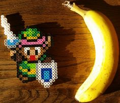 Link A Link to the Past hand made in perler beads