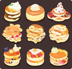 Trang chủ / Twitter Cute Food Drawings, Cute Kawaii Drawings, Kawaii Doodles, Cute Doodles, Cute Food Art, Cute Art, Pokemon, Dessert Illustration, Kawaii Illustration