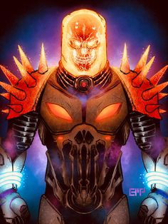Cosmic Ghost Rider by ericmporter83
