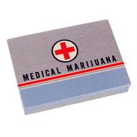 Ok, we had the Medical Marijuana Cigar Box, and we thought THAT was perfect.  But why stop there?  We're on a roll! (Like literally on a roll. We made too many jays and needed another convenient place