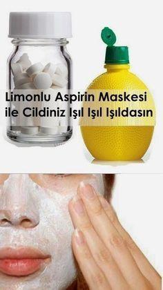 LİMONLU ASPİRİN MASKESİ