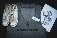 #becauseisaidso Woman's Tee