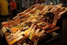 錦市場の魚屋さん。照りが食欲を誘う。 祇園祭 京都 kyoto gion festival Kyoto