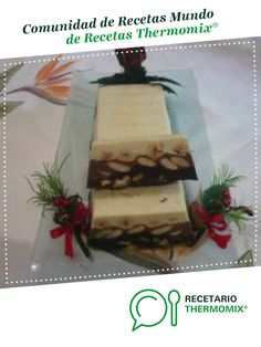 Chocolate Thermomix, Tres Chocolates, Turon, Desserts With Biscuits, Food N, Gift Wrapping, Gifts, Nougat Recipe, Christmas Sweets