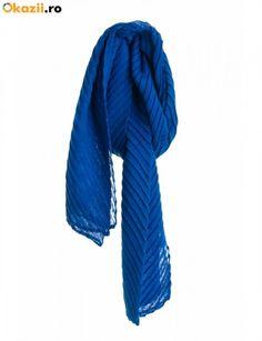 Esarfa TinaR 5022 Albastru Love Blue, Fashion, Moda, Fasion, Fashion Illustrations, Fashion Models