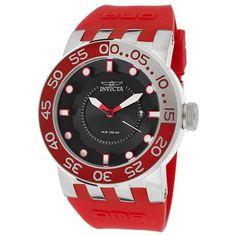 Invicta Men's 12421 DNA Black Dial Red Silicone Watch - http://www.specialdaysgift.com/invicta-mens-12421-dna-black-dial-red-silicone-watch/
