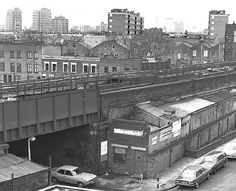 Walworth rd 1960s /70s New South, South London, Old London, Old Photos, Vintage Photos, Elephant And Castle, Disused Stations, London Photos, Historical Photos