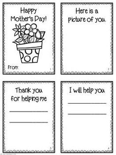 This is a simple but heartfelt activity for students to make for Mother's Day. Pinner says: I've done this project with and graders for many years, and the mothers have loved it! Mother's Day Activities, Holiday Activities, Classroom Crafts, Classroom Ideas, Mother's Day Projects, Mom Day, Grandparents Day, Mothers Day Crafts, Parent Gifts