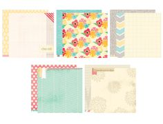 Serendipity Paper Collection Pack :: Serendipity :: By Collection :: Elles Studio Tags :: Elles Studio