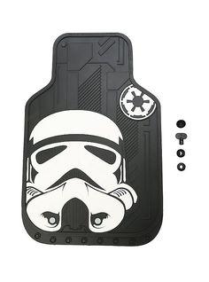 Star Wars Stormtrooper Car Floor Mat Set,