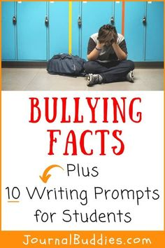 Both educators & parents need to be aware of bullying facts and statistics in order to spot the signs and symptoms of bullying. While students are likely familiar with the concept of bullying & aware of its damaging impact on the school community, they may not always know how to properly address it. Empower students by giving them an opportunity to learn and write about bullying & promote bullying awareness in their own words. #bullyingfacts #bullyingawareness #journalbuddies Education Middle School, Elementary Education, Fun Classroom Activities, Activities For Kids, Bullying Facts, School Community, Parent Resources, Writing Prompts, Parenting