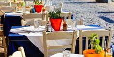 Idyllische Taverne in Griechenland