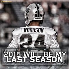 After 18 seasons in the NFL, The Oakland Raiders S Charles Woodson announces his retirement.