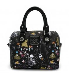 Loungefly x The Nightmare Before Christmas Character Saffiano Faux Leather Duffle Bag