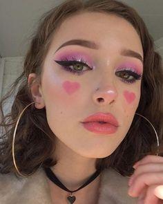 Best Trend of Pink/Cherry Eyeshadow - Sugar&Vapor - - Make-Up Pink Makeup, Cute Makeup, Pretty Makeup, Beauty Makeup, Kawaii Makeup, Edgy Makeup, 70s Makeup, Movie Makeup, Awesome Makeup