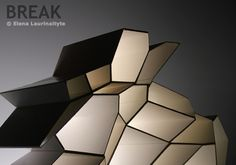 Iluminación decorativa - Break decorative lighting - Elena Laurinaityte #design #diseño