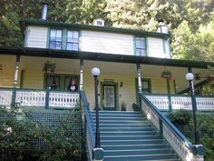 Santa Nella House- small, charming B&B just outside Guerneville.  If you really want to get away from it all.