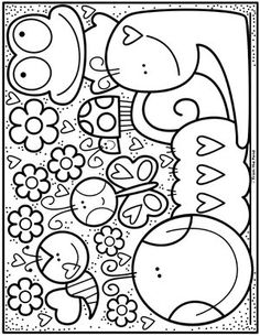 Coloring Club — From the PondYou can find Color club and more on our website.Coloring Club — From the Pond Spring Coloring Pages, Disney Coloring Pages, Printable Coloring Pages, Colouring Pages, Adult Coloring Pages, Coloring Pages For Kids, Coloring Sheets, Coloring Books, School Coloring Pages