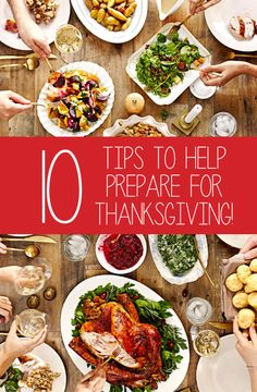 My ten tips to help prepare for Thanksgiving. Anything to help make your day smoothest as possible. Start prepping dessert, set the table, make the gravy and more.