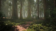 Speed Level Design - Redwood Forest - Unreal Engine 4 and World Machine 2