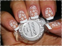 Bride's nails