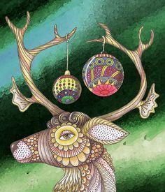 zentangle #Zentangle #Zentangle Patterns #Christmas #Zentangle Christmas #Christmas cards