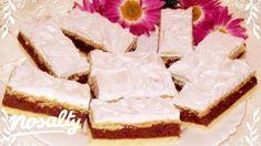 Hungarian Cake, Hungarian Recipes, Vanilla Cake, Cheesecake, Yummy Food, Foods, Cakes, Food Food, Food Items