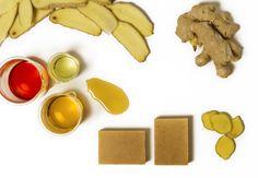 Per Purr - Natural Cosmetics. Warm Soap – Ginger & Honey.  #perpurr #perpurrcosmetics #naturalcosmetics #imaginepurebeauty #organicskincare #skin #naturalsoaps #vegetablesoaps #bodyoils #purebeauty #ginger #honey