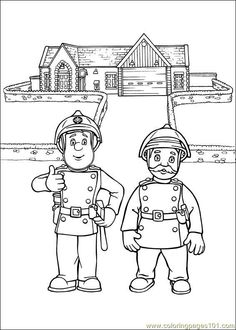workplace safety coloring pages - photo#19