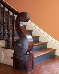 39 Inspiring Painted Stairs Ideas - Home Decorating Inspiration
