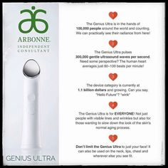 I just got mine and I'm so excited to show off my results! Message me for more info! http://jenawagner .arbonne.com/