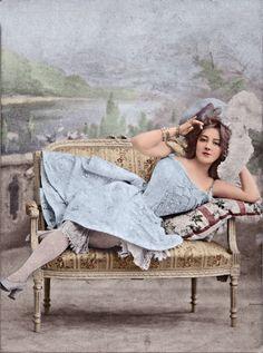 Portrait of Polish-born stage performer Anna Held c.1900