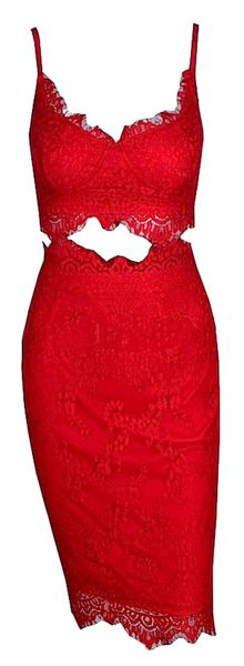valentine bandage dress