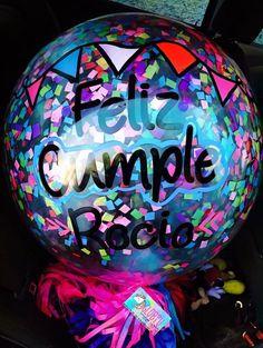 Globos B Balloon Centerpieces, Balloon Decorations Party, Birthday Decorations, Party Themes, Big Balloons, Baby Shower Balloons, Ideas Aniversario, Happy Brithday, Ideas Para Fiestas