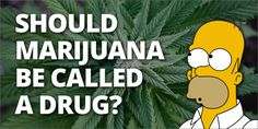Should Weed Be Called A 'Drug'?