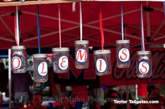 ole miss spirit pics | For this game, leaving a message to the competition was a common ...