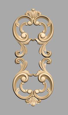 A750 Wood Carving Designs, Wood Carving Patterns, Cornice Design, Dremel, Wedding Logo Design, Wood Appliques, Plaster Art, Craft Images, Bird Sculpture