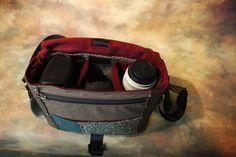 Leather Camera Bag  -  Tuscany Line -  Medium DSLR - IN STOCK Cow Hair. $200.00, via Etsy.
