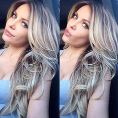 Crystal Hefner put highlights in her hair