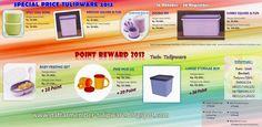 Special Price & Point Reward Twin Tulipware | 16 Oktober - 30 Nopember 2013
