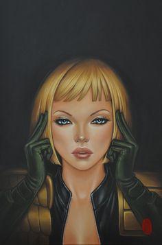 Image result for judge anderson art