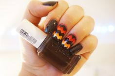 Beauty Edit |Thanksgiving Nail Art at Home - Fashion To Figure